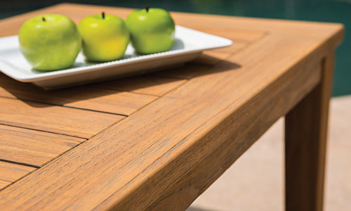 Lloyd Flanders teak furniture
